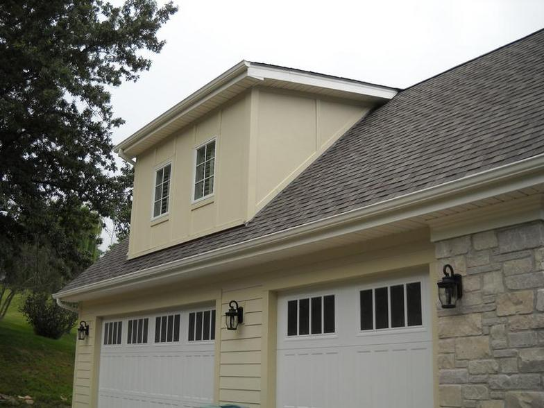 Hardiplank Navajo Beige Siding Installation Project In Chesterfield Mo 63017 Siding Express
