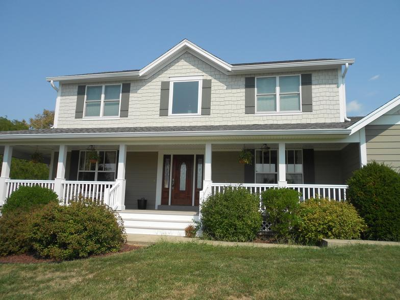 James Hardie Colorplus Grey Siding Installation Project In