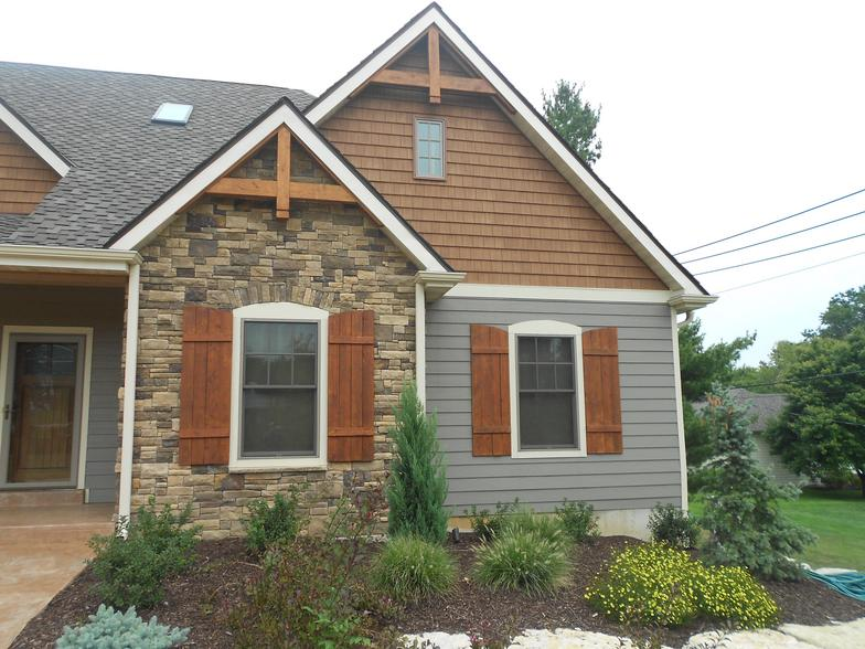 James Hardie Cedar Impressions Siding Installation Project In Olivette Mo 63132 Siding